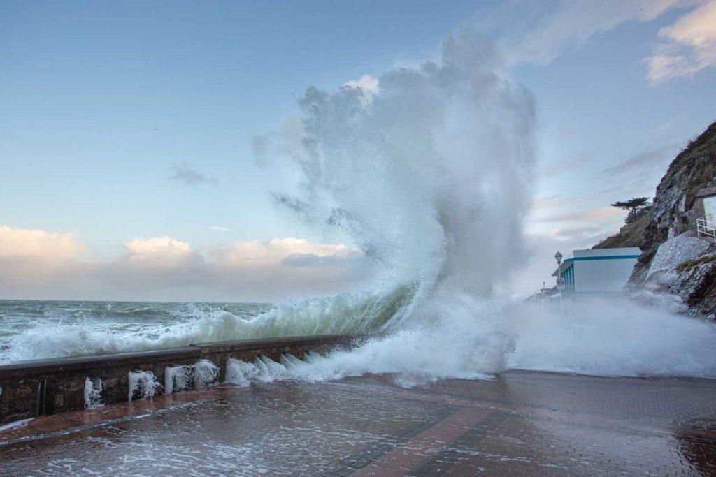 Tempête Ciara à Granville – Manche – Normandie